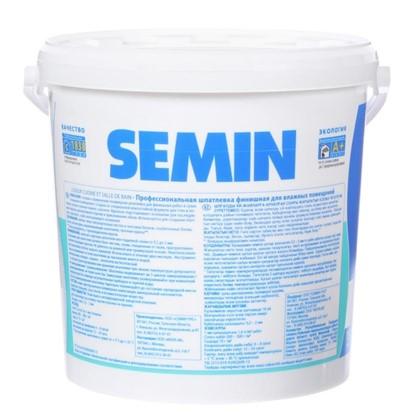 Шпатлевка финишная для влажных помещений Semin 16 кг