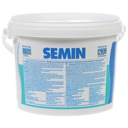 Шпатлевка финишная для влажных помещений Semin 5 кг