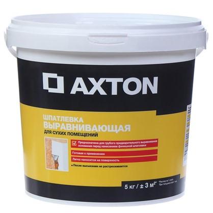 Купить Шпатлевка выравнивающая для сухих помещений Axton 5 кг дешевле