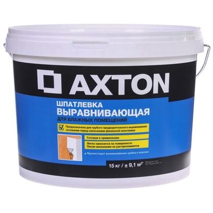 Шпатлевка выравнивающая для влажных помещений Axton 16 кг