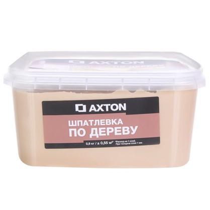 Шпатлевка Axton для дерева 09 кг белое масло