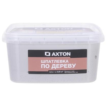 Купить Шпатлевка Axton для дерева 09 кг тач дешевле