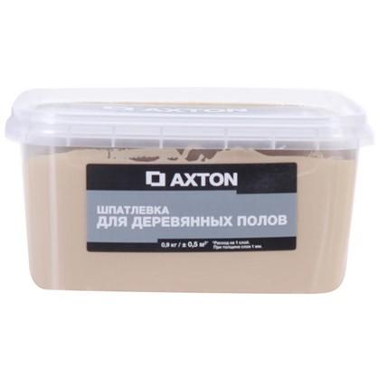 Купить Шпатлевка Axton для деревянных полов 09 кг белое масло дешевле