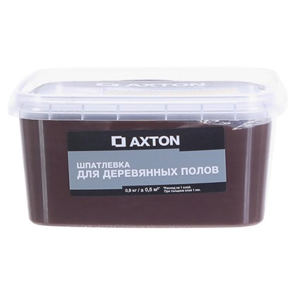 Шпатлевка Axton для деревянных полов 09 кг эспрессо