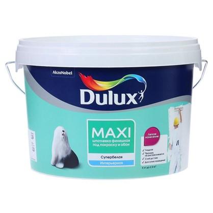 Купить Шпатлевка мелкозернистая Dulux 5 кг дешевле