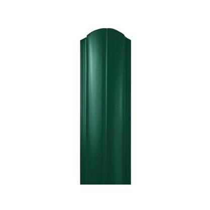 Штакетник ПРЕМ 130мм 1.5 м двухсторонний зеленый