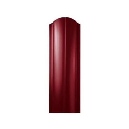 Купить Штакетник ПРЕМ 130мм 2 м двусторонний вишневый дешевле