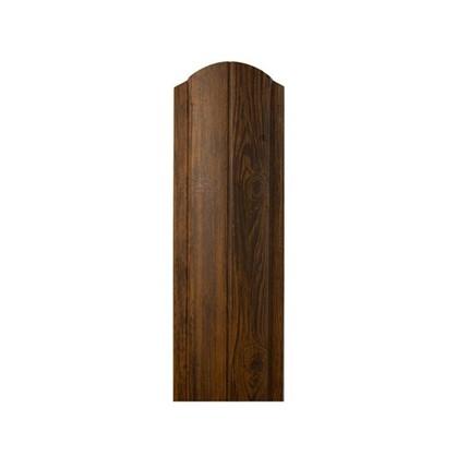 Купить Штакетник ПРЕМ 130мм 2 м темное дерево дешевле