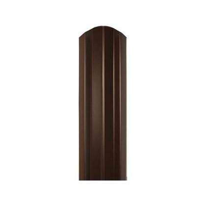 Купить Штакетник СТ-М 100мм 1.5 м двухсторонний коричневый дешевле