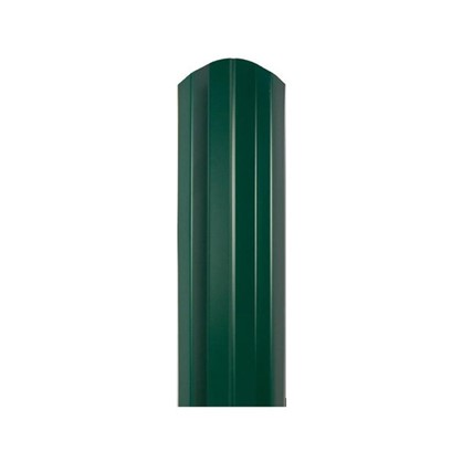 Штакетник СТ-М 100мм 1.5 м двухсторонний зеленый