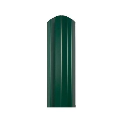 Купить Штакетник СТ-М 100мм 1.5 м двухсторонний зеленый дешевле