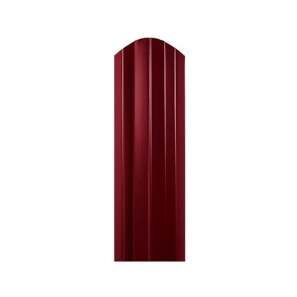 Купить Штакетник СТ-М 100мм 1.8 м двухсторонний вишневый дешевле