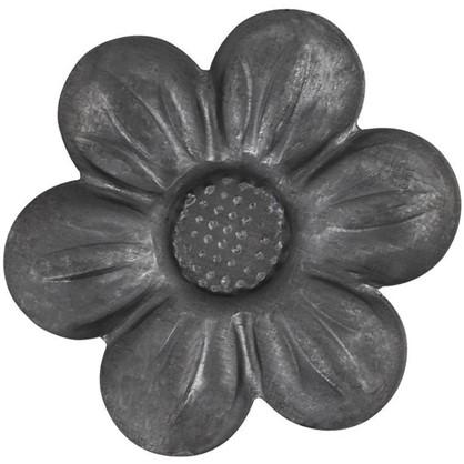 Штамповка цветок средний 10х65х65 мм сталь