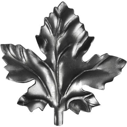 Штамповка лист виноградный 10х85х77 мм сталь