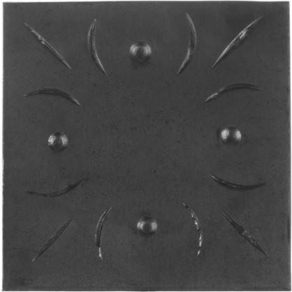 Штамповка основание 20х100х100 мм сталь