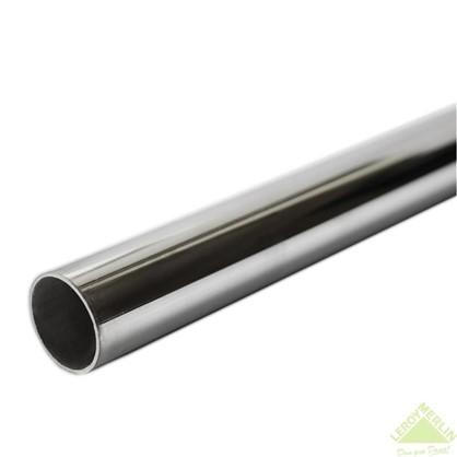 Штанга 1000х25 мм сталь цвет хром