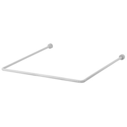 Штанга для ванной комнаты Vidage П-образная 90x90x90 см цвет белый