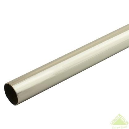 Штанга гладкая 160 см цвет хром