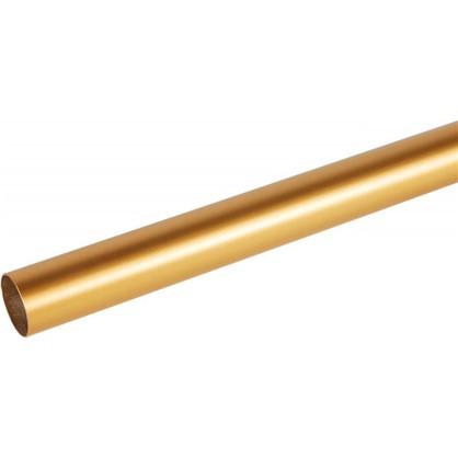 Штанга гладкая 20-160 см сталь цвет золото матовое