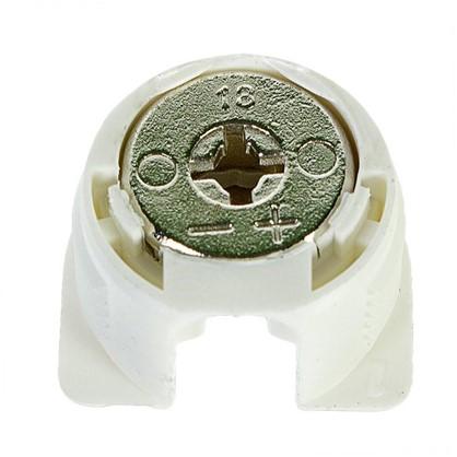 Штифт с эксцентриком 16 мм пластик цвет белый 4 шт.