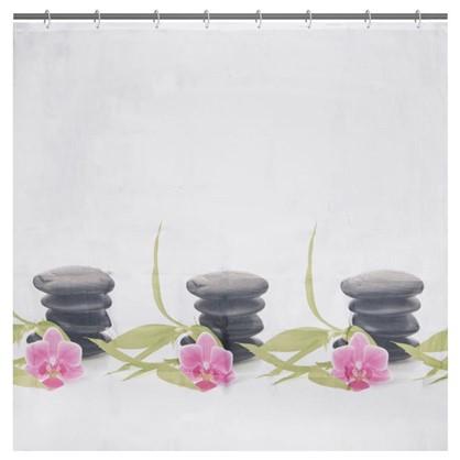 Купить Штора для ванной Bliss 180х180 см цвет белый дешевле