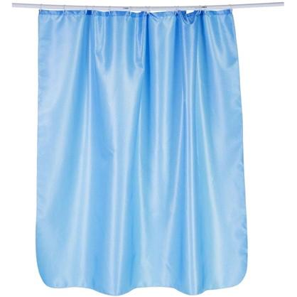 Купить Штора для ванной Бриллиант 180х180 см цвет голубой дешевле