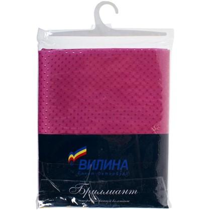 Купить Штора для ванной Бриллиант 180х180 см цвет розовый дешевле