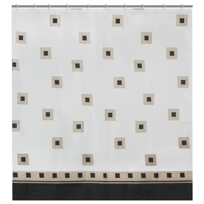 Штора для ванной Classicus 180х180 см цвет белый