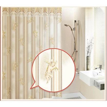 Купить Штора для ванной Gold Angel 180х180 см цвет бежевый дешевле