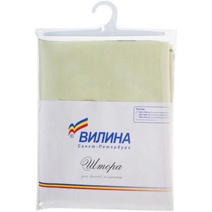 Штора для ванной Грин 180х180 см цвет зелёный