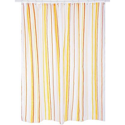 Штора для ванной Indwen 180x180 см цвет бежевый