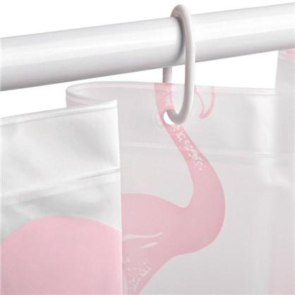 Штора для ванной Maravillas 180х180 см цвет белый