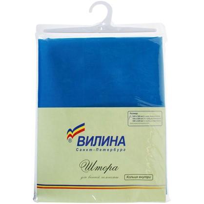 Купить Штора для ванной Парус 180х180 см цвет синий дешевле