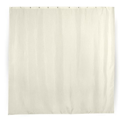Купить Штора для ванной Petali 180х180 см цвет молочный дешевле