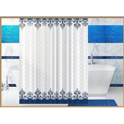 Штора для ванной Vostok 180х180 см цвет белый