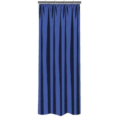 Штора на ленте 140х260 см тафта цвет синий