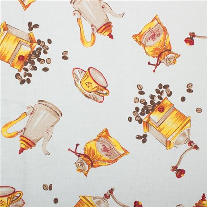 Штора на ленте для кухни Coffee 145х180 см
