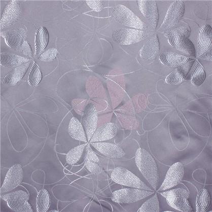Штора на ленте Фьюжн 145х280 см цвет серый