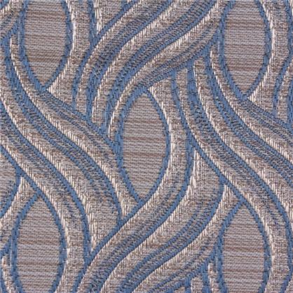 Штора на ленте Грасси 160х260 см цвет синий