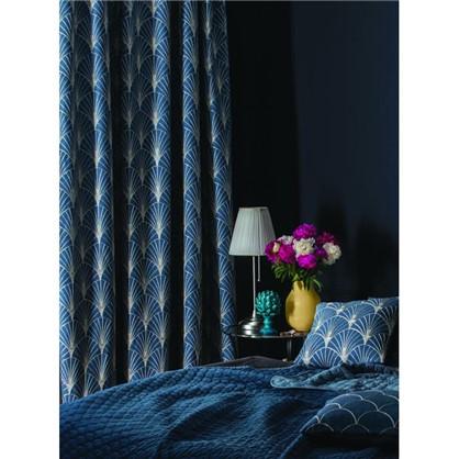 Штора на ленте Great Gatsby 200х280 см цвет синий