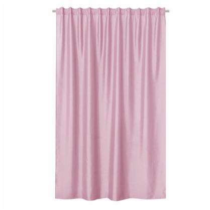 Штора на ленте Inspire Нью Силка 200х280 см цвет розовый