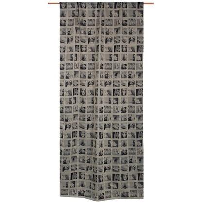 Штора на ленте Инстаграм 145х280 см цвет светло-бежевый