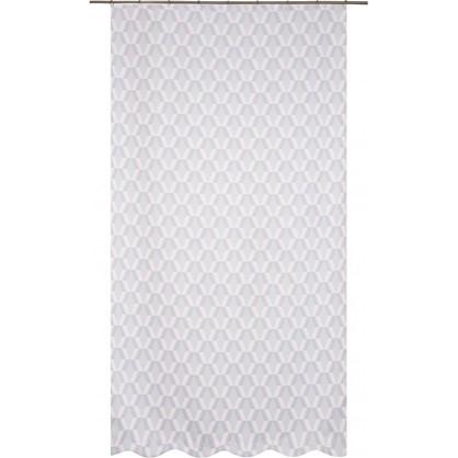 Штора на ленте Карлин Сканди 200х260 см цвет серый