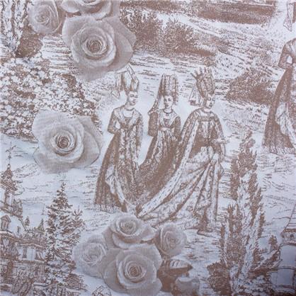 Штора на ленте Легенда 145х280 см цвет белый