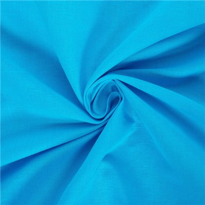 Штора на ленте Морской бриз 145х260 см цвет бирюзовый