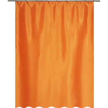 Штора на ленте Нью Силка 200х280 см цвет оранжевый