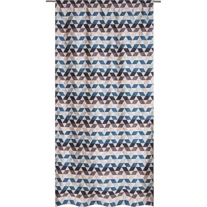 Купить Штора на ленте Охара 140х280 см цвет синий дешевле