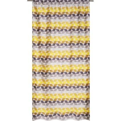 Штора на ленте Охара 140х280 см цвет желтый