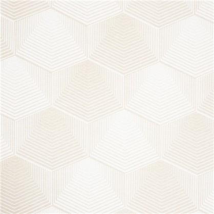 Штора на ленте Призма 160х260 см цвет бежевый