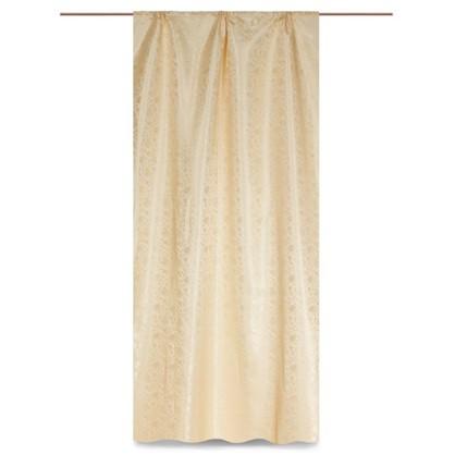 Штора на ленте Прованс 140х260 см цвет золотой